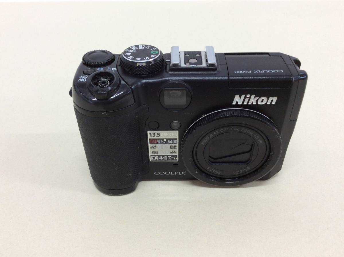 (762443)Nikon デジタルカメラ COOLPIX P6000