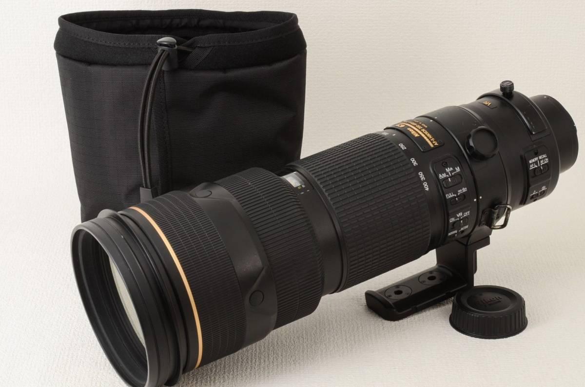 ニコン NIKON AF-S NIKKOR 200-400mm f4G ED VR II (333-M95)
