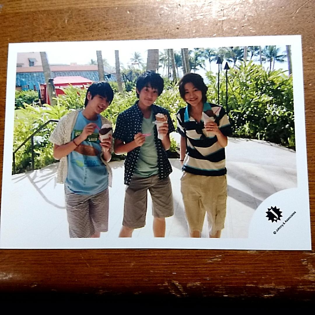 ジャニーズJr. HiHiJET Classmate J 橋本涼 猪狩蒼弥 今野大輝 ジャニーズショップ 公式写真 ハワイ