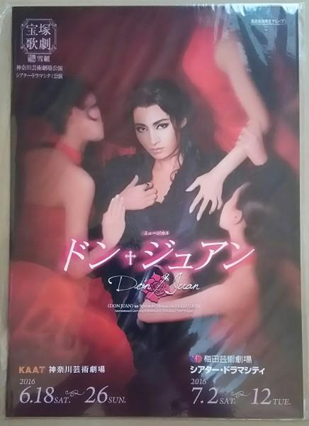 宝塚 公演プログラム 雪組「ドンジュアン」