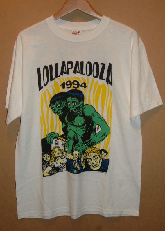 デッドストック 90年代 LOLLAPALOOZA ロラパルーザ Tシャツ