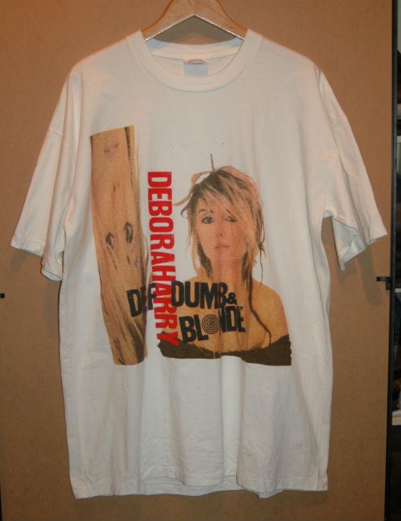 ユーズド 80年代 DEBORAH HARRY BLONDIE デボラ ハリー ブロンディ Tシャツ