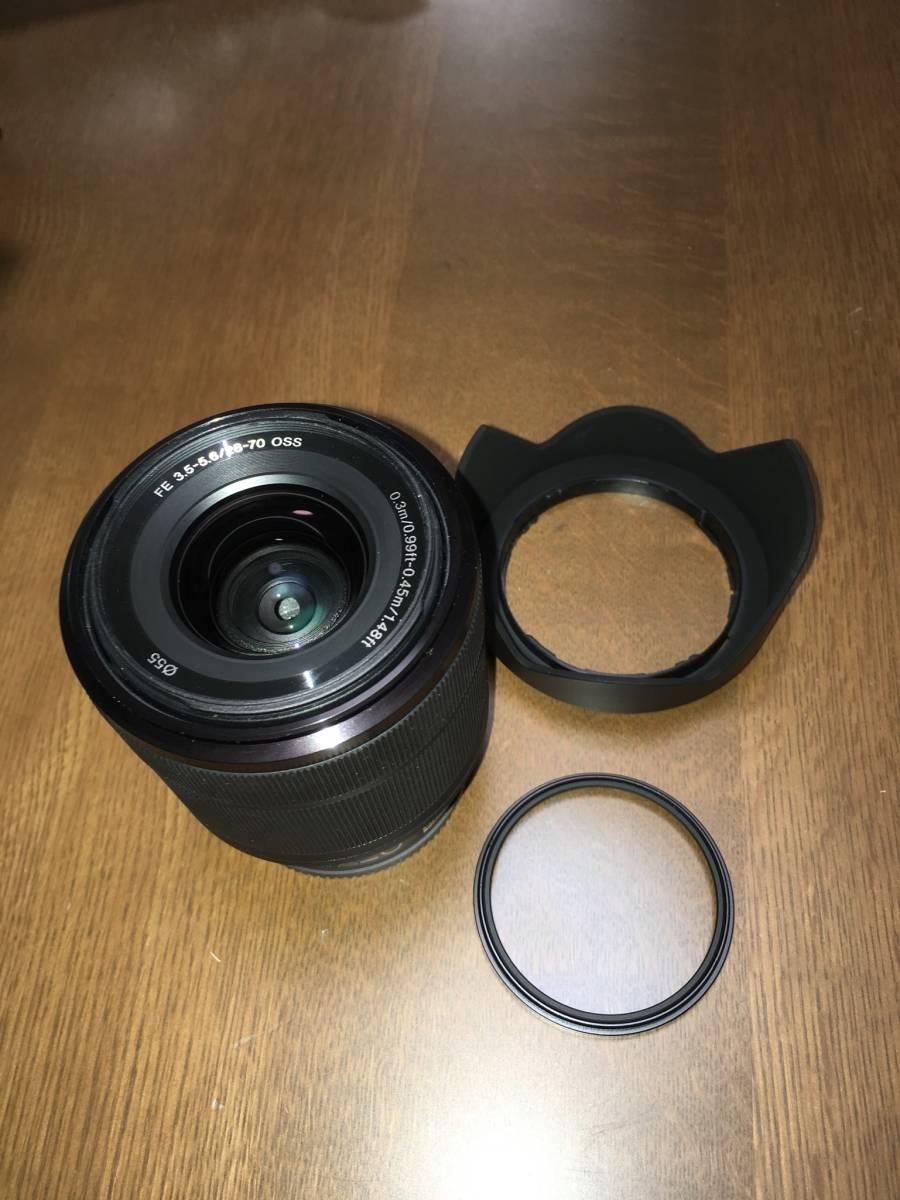 SONY SEL2870 FE28-70mm F3.5-5.6 フルサイズ対応 Eマウント 送料込み
