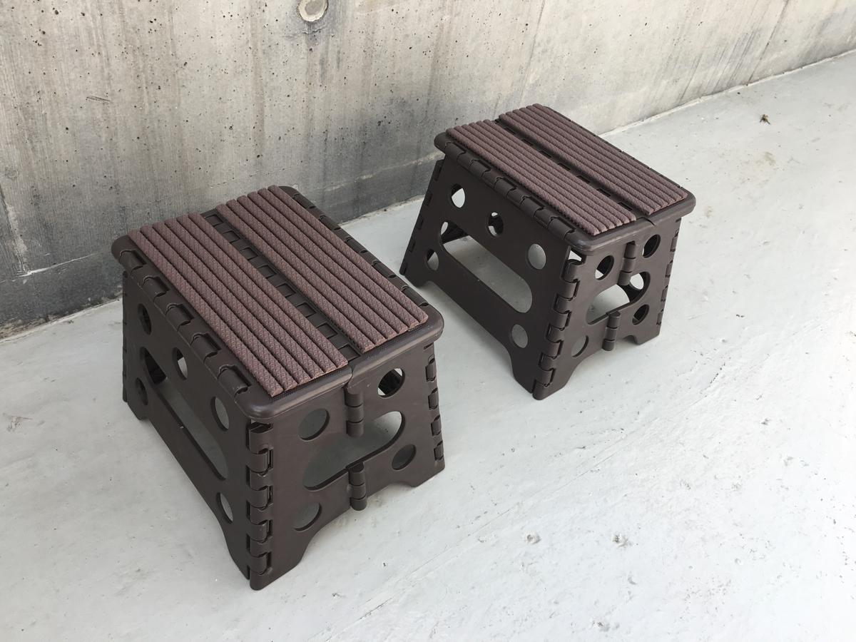 【新品未使用】スキーワックス台2個セット 収納バッグ付 グレー