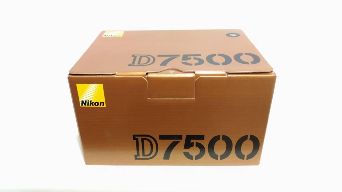 Nikon D7500 新品未開封(保証書あり)!!