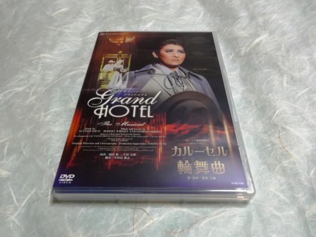 ♪宝塚DVD 月組 宝塚大劇場公演「グランドホテル」「カルーセル輪舞曲」美品