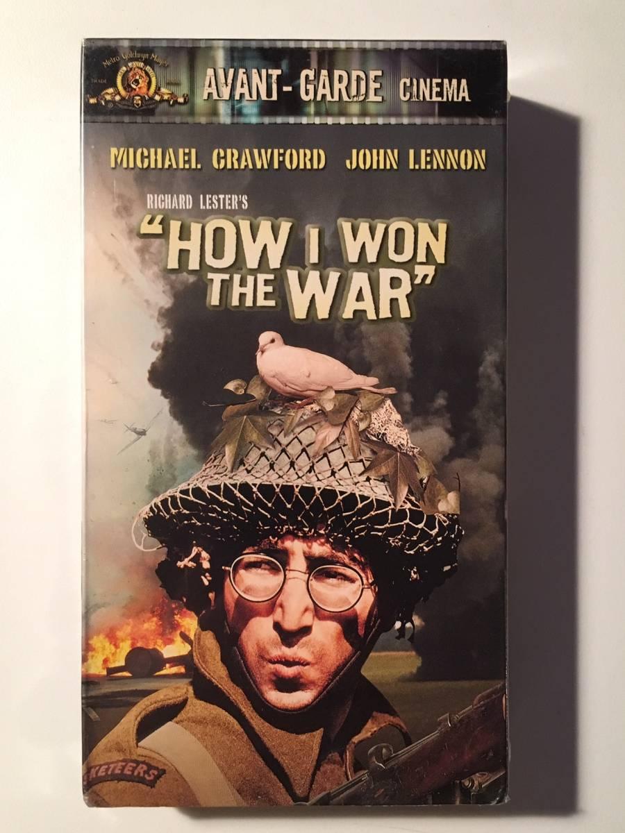 ジョン・レノン「HOW I WON THE WAR」2000年発売 VHS インポート 未開封