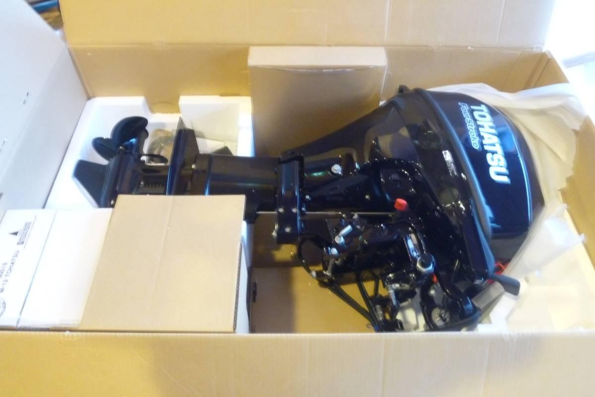 トーハツ 15馬力 旧モデル 新品_画像1