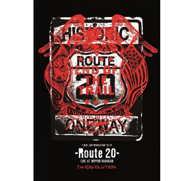 国内正規盤 T.M.Revolution T.M.R. LIVE REVOLUTION '16-'17 -Route 20- LIVE AT NIPPON BUDOKAN [2DVD+CD] 美品 イナズマロックフェス ライブグッズの画像