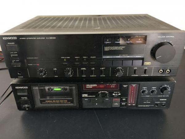 KENWOOD プリメインアンプ KA-880SD KX-880Gセット ジャンク扱い【C-5-3/中古品/送料無料】
