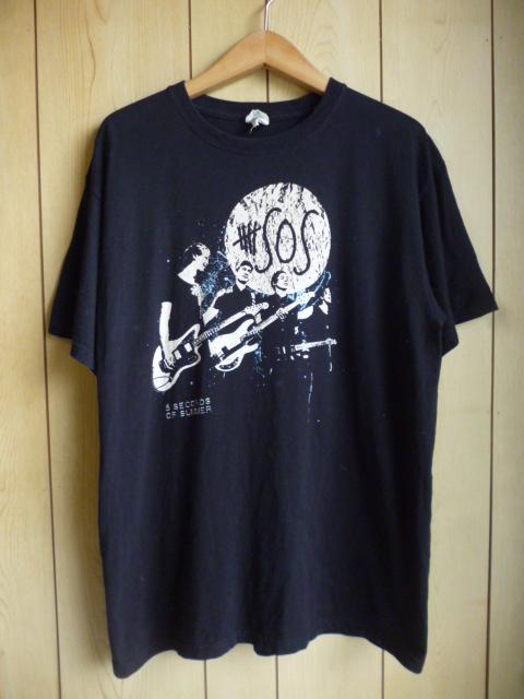 5 seconds of summer ★ オフィシャル 2013年 5SOS Tシャツ 黒 L ★ ファイヴ セカンズ オブ サマー ワン ダイレクション