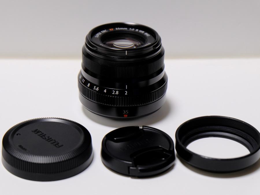 富士フイルム FUJINON XF 35mm F2 R WR 黒 中古完動品
