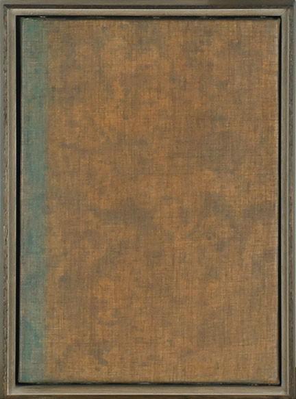 【特選】山内龍雄画額「私的・精神的空間」 油彩 サイン