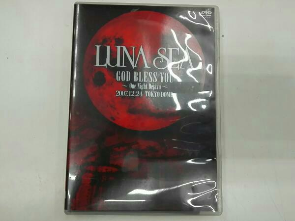 DVD J-POP LUNA SEA GOD BLESS YOU~One Night Dejavu~2007.12.24 TOKYO DOME ライブグッズの画像