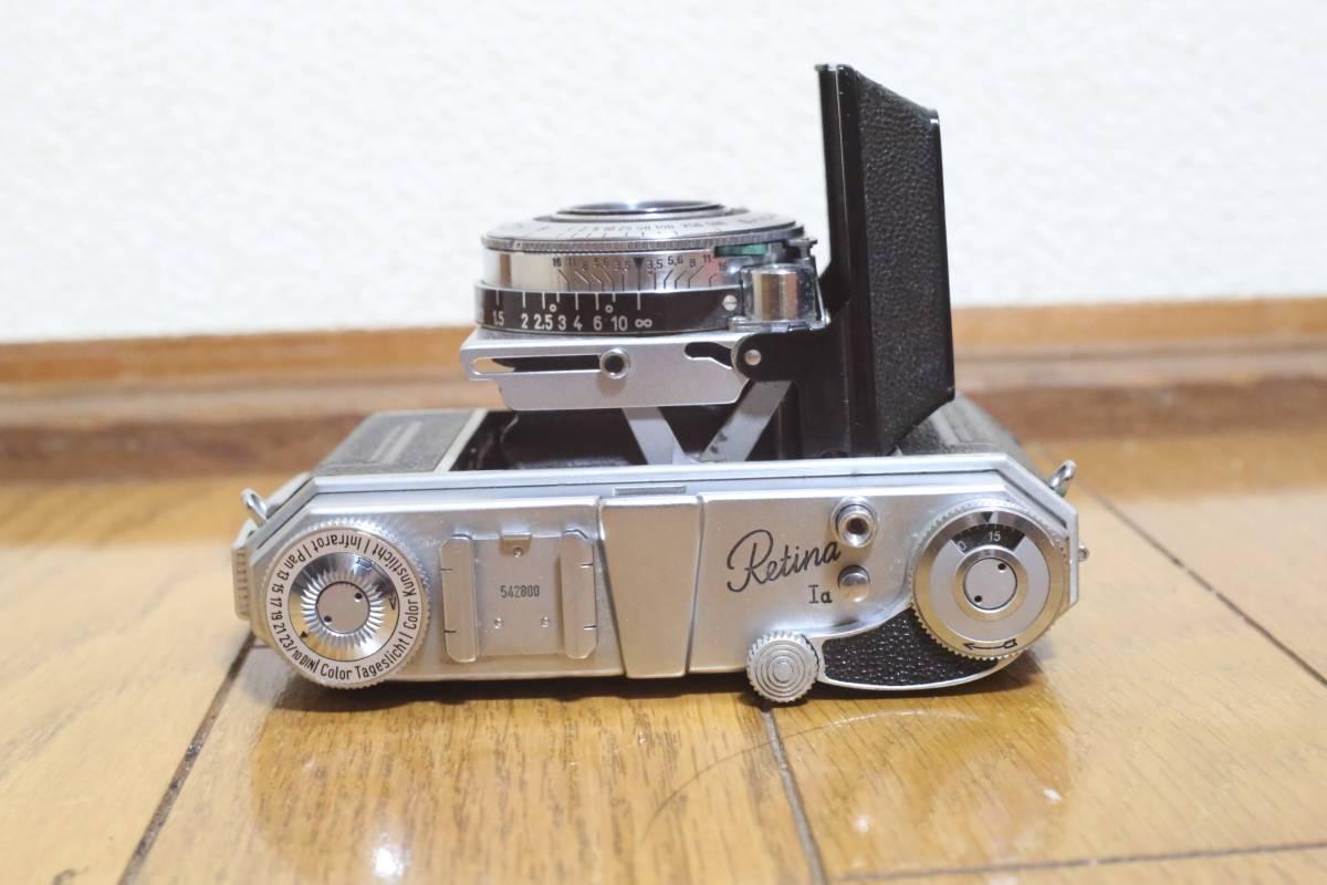 KODAK Retina 1a 50mm f3.5付き_画像3