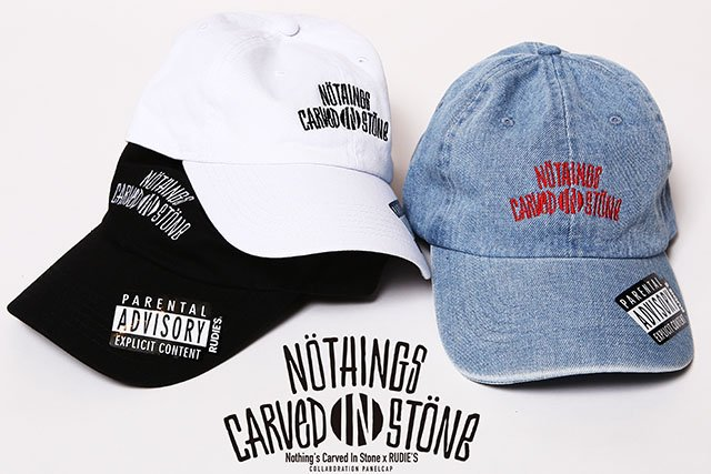 Nothing's Carved In Stone x RUDIE'S コラボパネルキャップ 限定グッズ