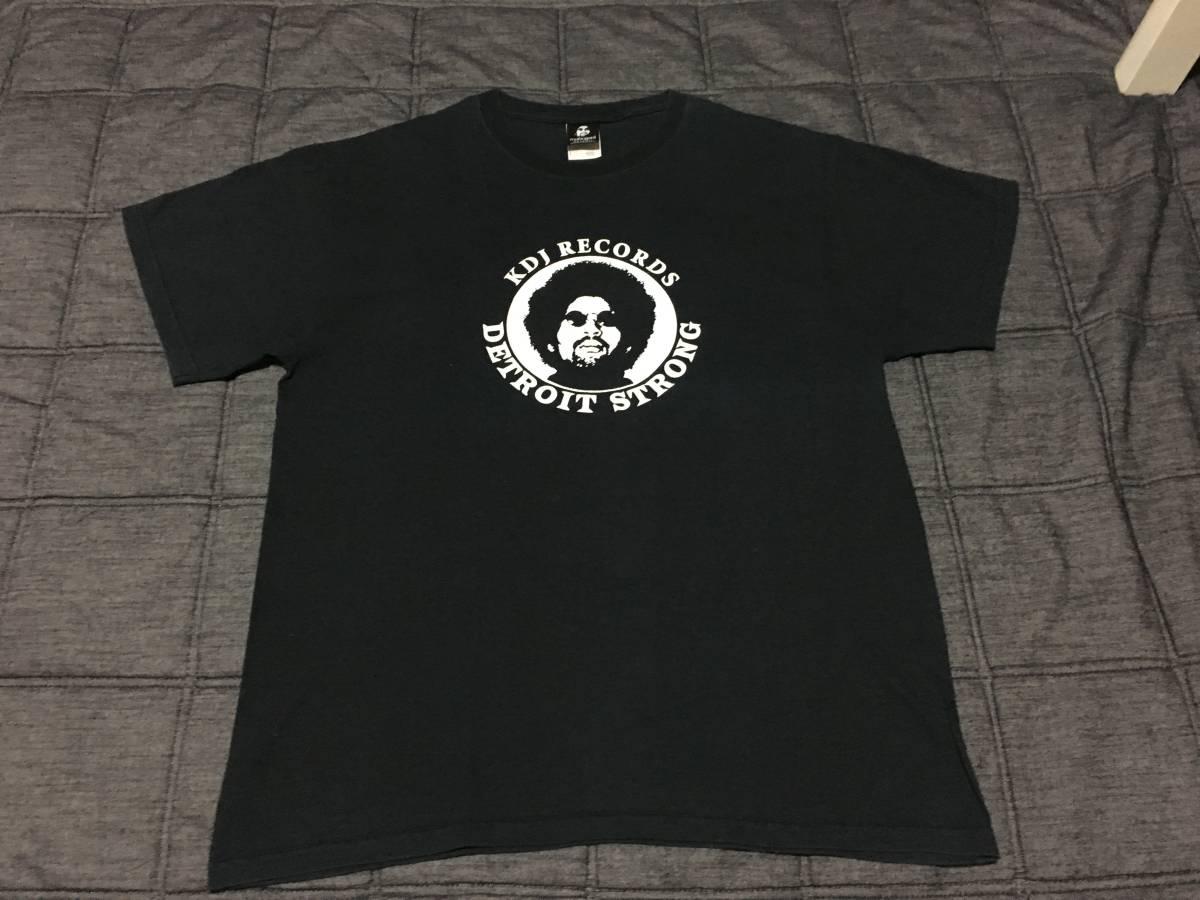 KDJ a.k.a Moodymann / Detroit Strong T-Shirts ティーシャツ Black L