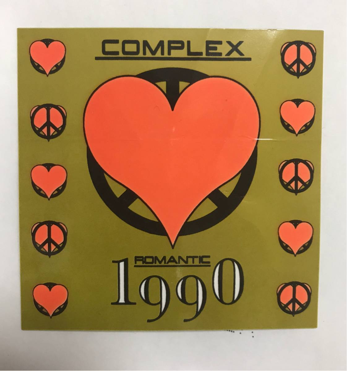 COMPLEX ステッカー