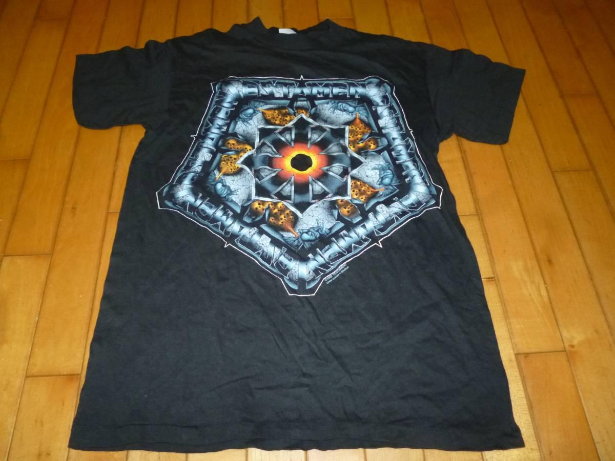 即決●未使用品 92年 TESTAMENT Tシャツ 黒 M