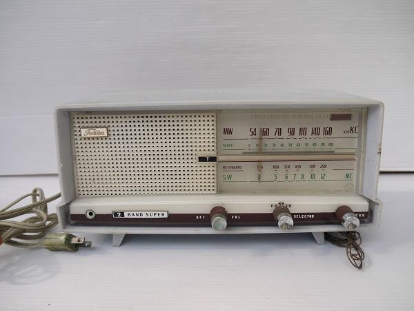 東芝 真空管ラジオ かなりやFS 5UL-428 ジャンク品
