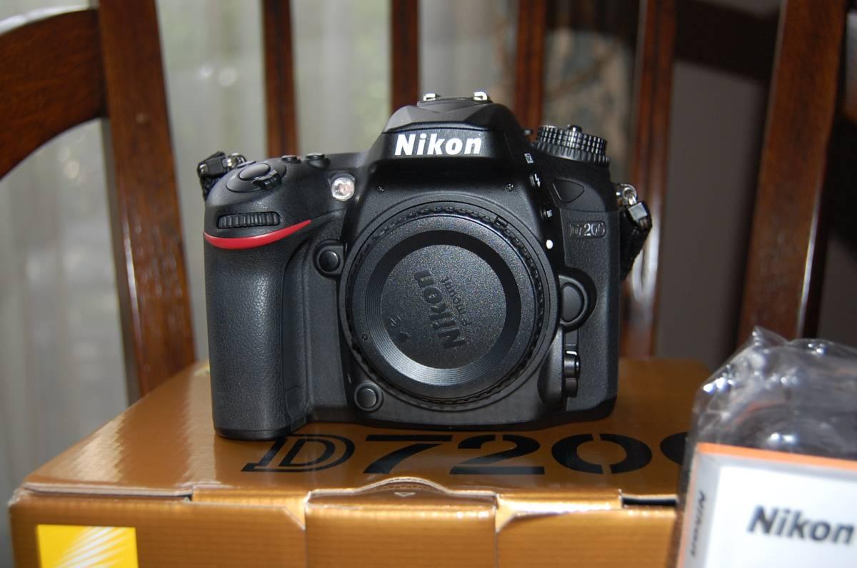ニコン NIKON D7200 ボディー美品 今年購入保証期間中