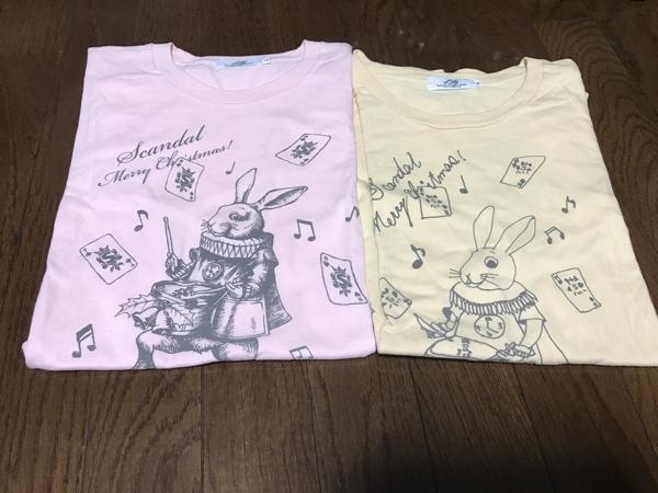 SCANDAL ベストクリスマス3アフターパーティー Tシャツ 2種セット rina 激レア ライブグッズの画像