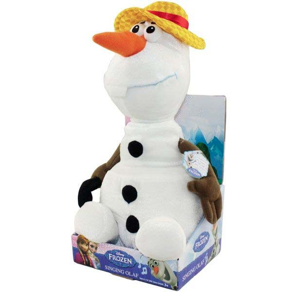 新品 (おもちゃ)アナと雪の女王 オラフ 歌う ぬいぐるみ 人形 ディズニーグッズの画像