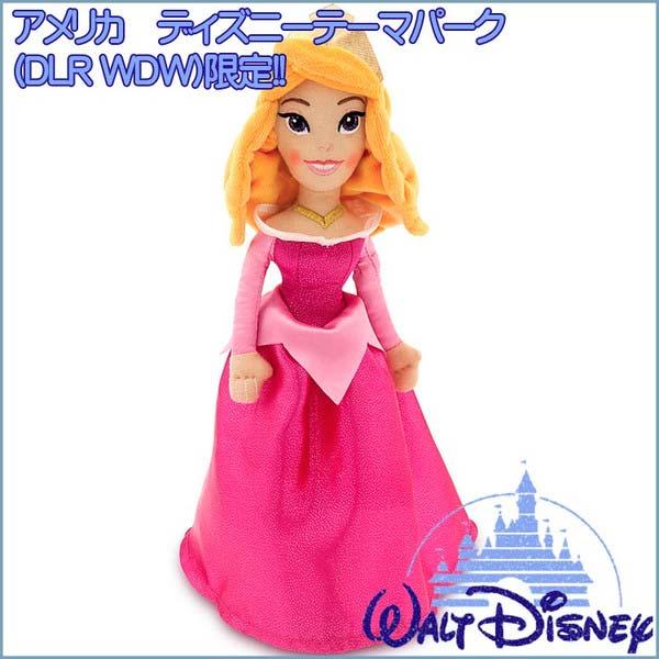 新品(おもちゃ)ディズニー プリンセス オーロラ 人形 ぬいぐるみ ディズニーグッズの画像
