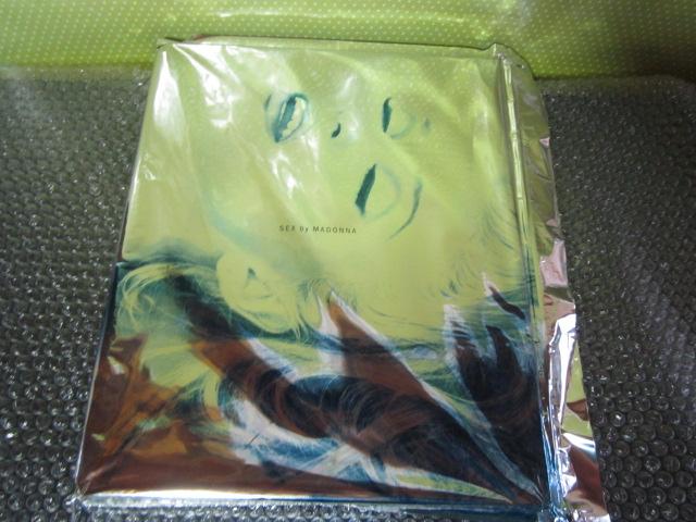 マドンナ写真集◆新品未開封◆SEX by MADONNA◆同朋舎出版 1992年◆貴重 ライブグッズの画像
