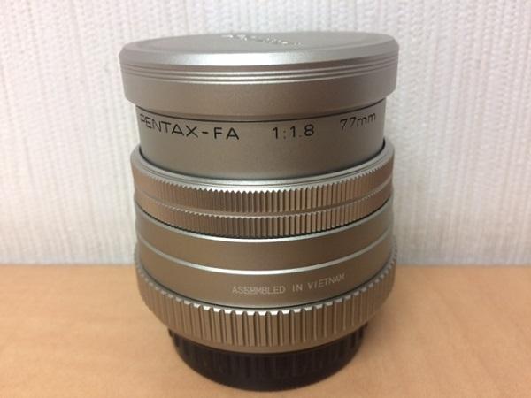 ★レンズ PENTAX ペンタックス smc FA 1:1.8 77mm