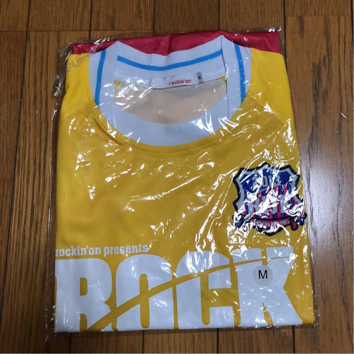ロッキンジャパン サッカーシャツ2013未使用 ライブグッズの画像