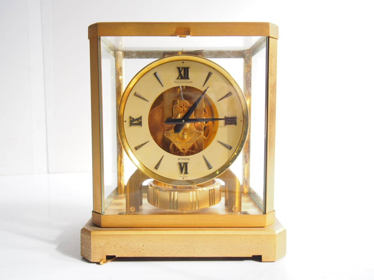 JAGER LECOULTRE ATMOS ジャガールクルト アトモス 置時計 空気時計 永久時計