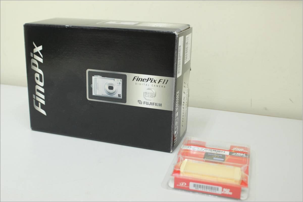 【新品】 FUJIFILM 富士フィルム コンパクトデジタルカメラ FinePix F11