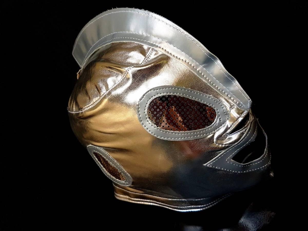 ウルトラマン プロレス マスク 新品 銀色です。 グッズの画像