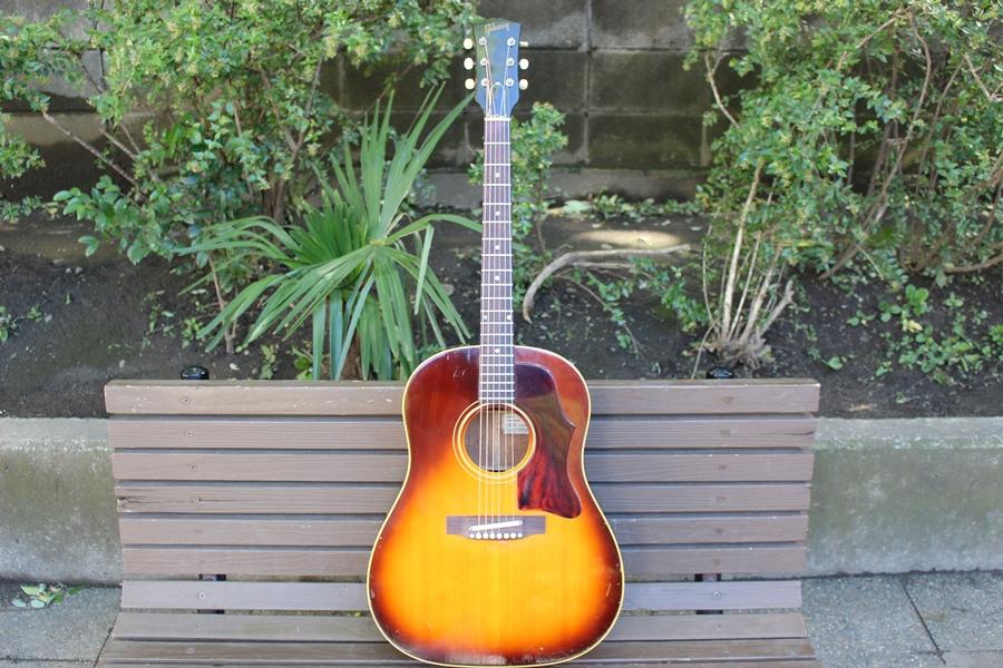 Gibson 1969年製 J-45 (シリアル535421)ギブソン ビンテージギター