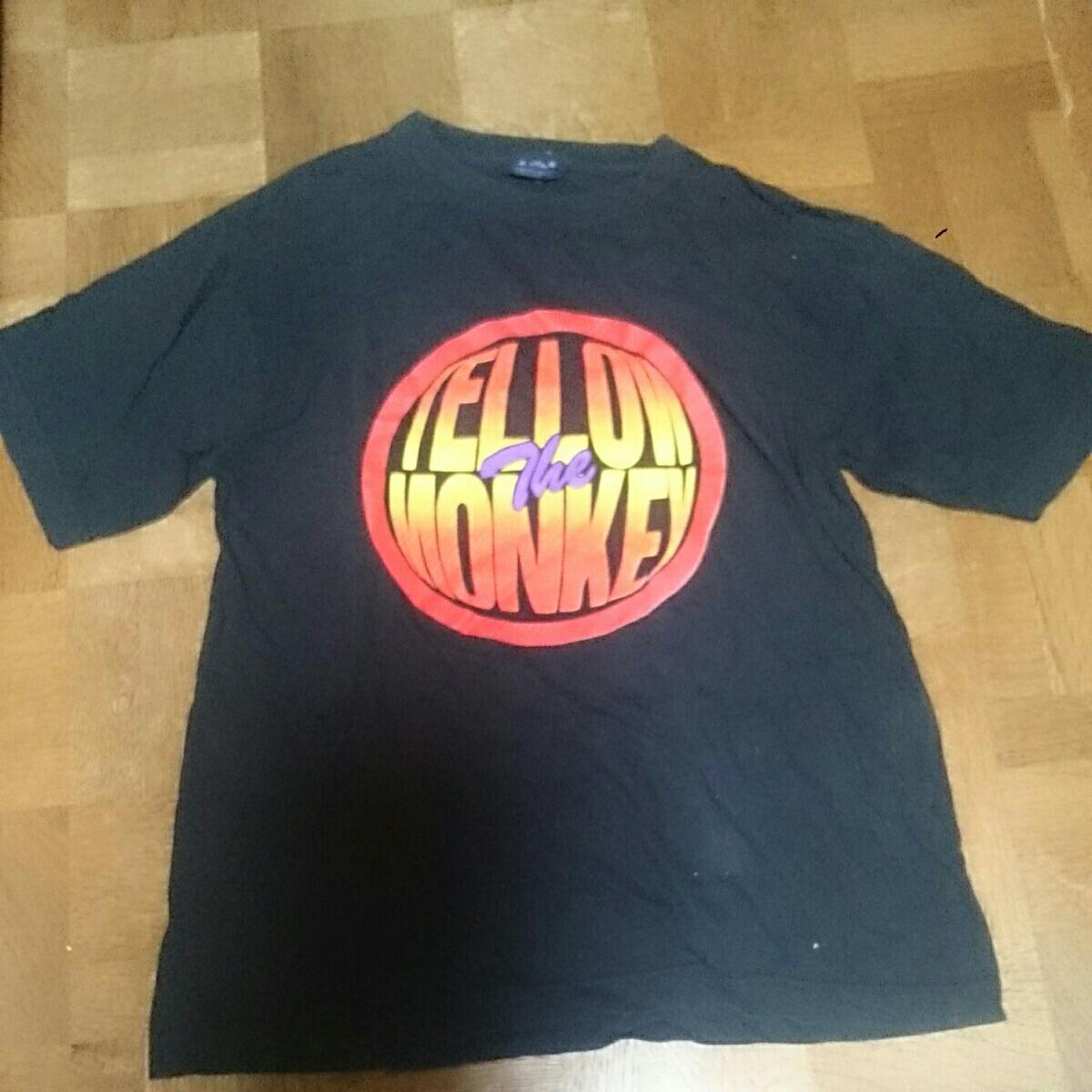 THE YELLOW MONKEY 1996 FOR SEASON 野生の証明 Tシャツ(黒) イエモン ライブグッズの画像