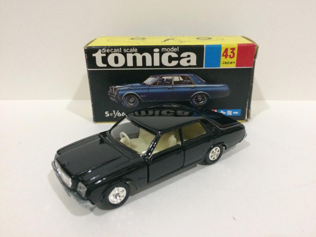 トミカ 黒箱 20 トヨタ センチュリー 1E 日本製