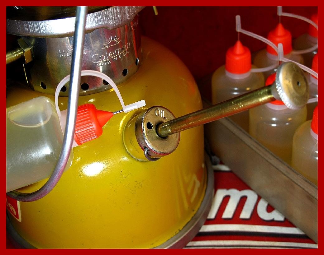 【M】ポンプカップ用/リュブリカントオイル同品質コールマン200A 202 236 237 502 621 635 242 288_画像5