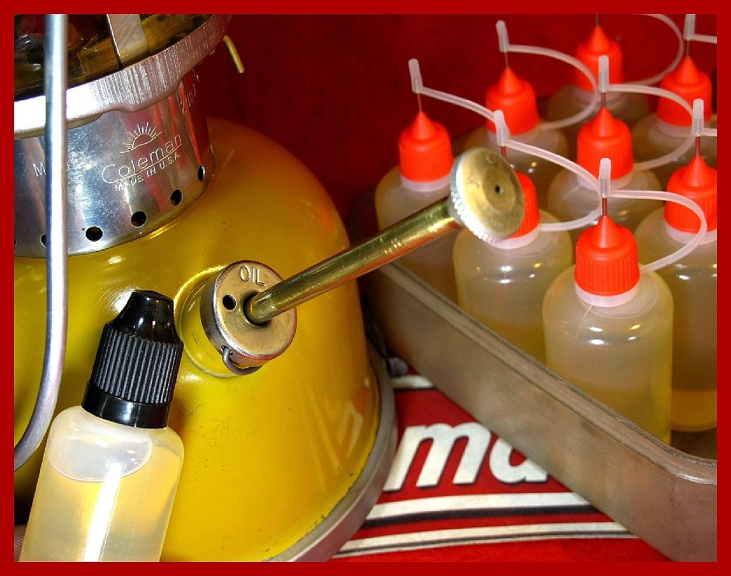 【M】ポンプカップ用/リュブリカントオイル同品質コールマン200A 202 236 237 502 621 635 242 288_画像6