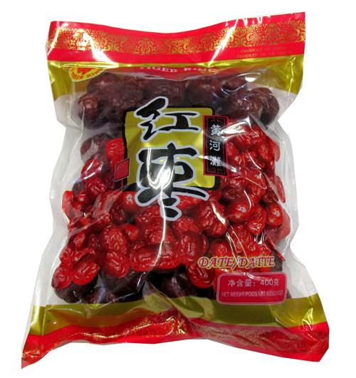乾燥ナツメ(大紅棗)果実 木の実 上品な棗 中国黄河地域産超大粒棗・ナツメ なつめ ドライフルーツ高品質な紅棗400g(約53~55粒)_画像2