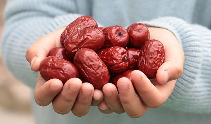 乾燥ナツメ(大紅棗)果実 木の実 上品な棗 中国黄河地域産超大粒棗・ナツメ なつめ ドライフルーツ高品質な紅棗400g(約53~55粒)_画像5