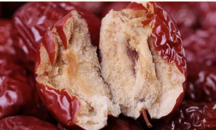 乾燥ナツメ(大紅棗)果実 木の実 上品な棗 中国黄河地域産超大粒棗・ナツメ なつめ ドライフルーツ高品質な紅棗400g(約53~55粒)_画像7