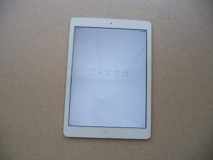 iPad Air 64GB A1475 Wi-Fi + Cellular softbank シルバー 本体のみ 美品 送料込み