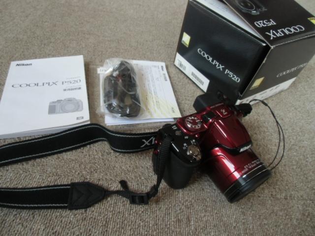 新品同様 Nikon COOLPIX P520 赤_画像4