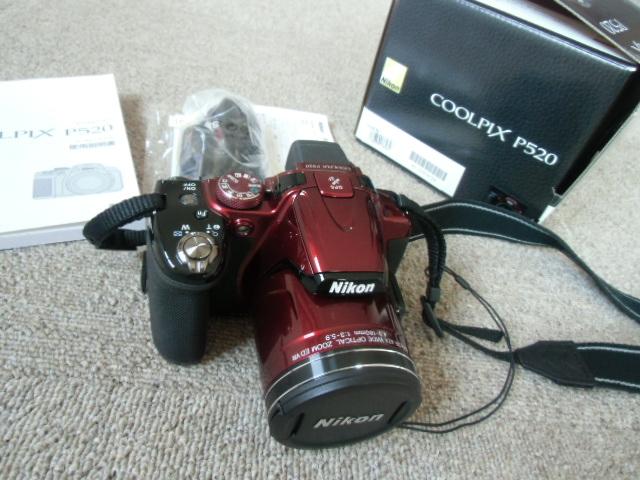 新品同様 Nikon COOLPIX P520 赤_画像7