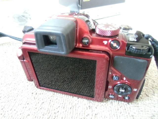 新品同様 Nikon COOLPIX P520 赤_画像2
