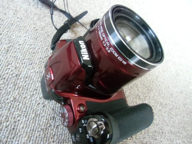 新品同様 Nikon COOLPIX P520 赤_画像5