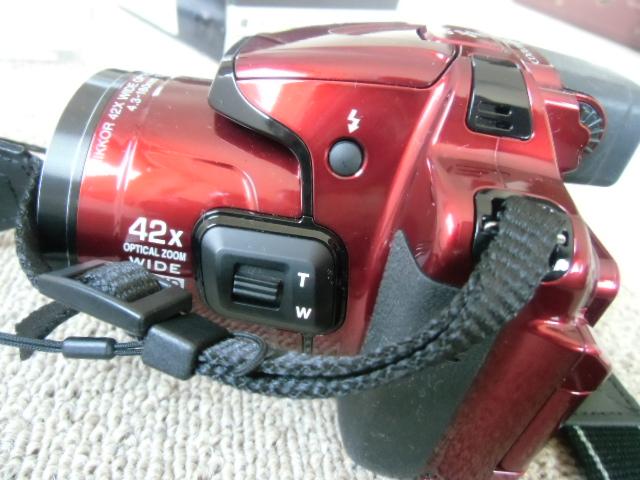 新品同様 Nikon COOLPIX P520 赤_画像6
