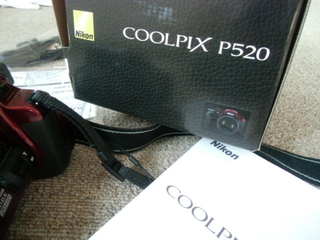 新品同様 Nikon COOLPIX P520 赤_画像9