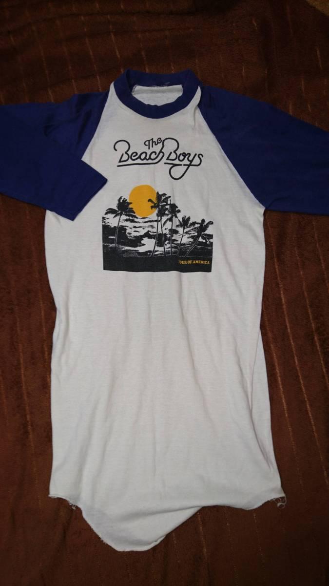 The Beach Boys 70s ビンテージ オリジナル ラグラン vintage オリジナル シングルステッチ 激レア Beatles